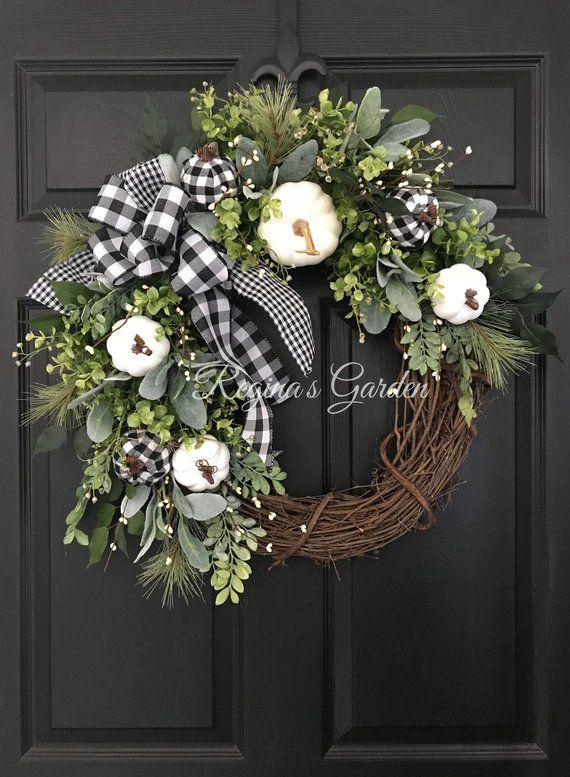 Pin On Fall Wreaths Love
