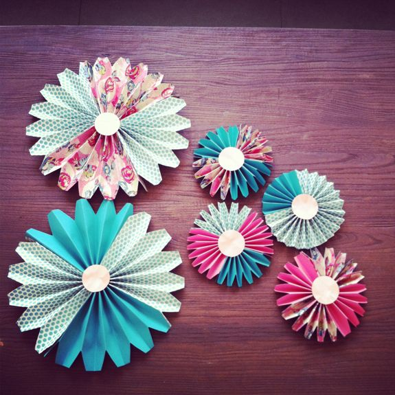 how to make paper fan decorations parenting living