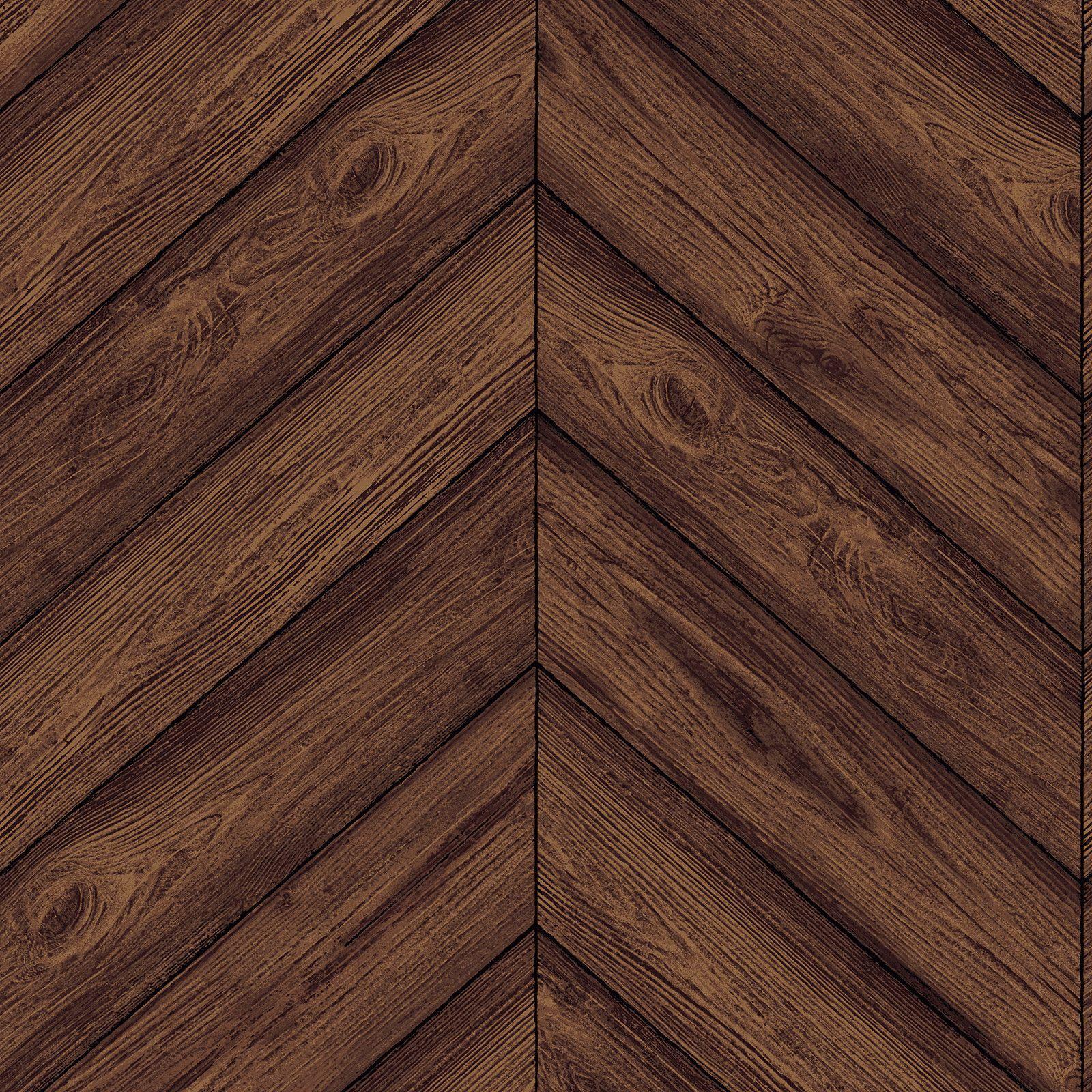 Sample Herringbone Walnut Textured Self Adhesive Wallpaper By Tempaper Removable Wallpaper Herringbone Wallpaper Temporary Wallpaper