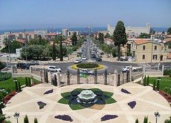 Jardines, Haifa, Terrazas