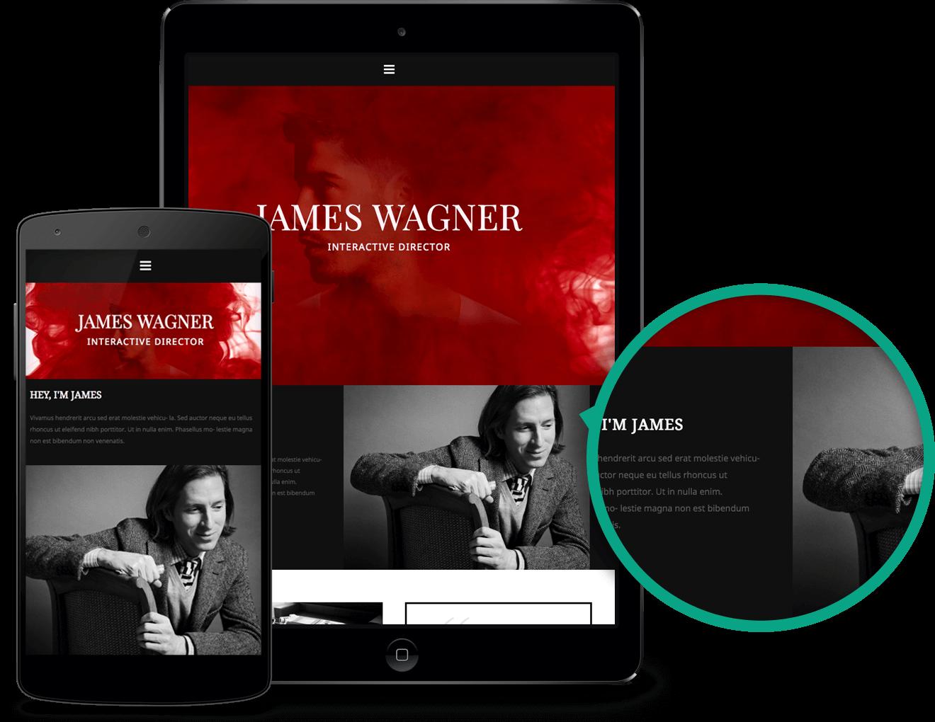 A minimalist video portfolio premium WordPress theme for any content creator…