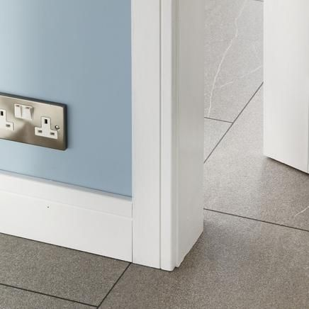 Burford contemporary architrave and skirting door trims - Contemporary trim moulding ...