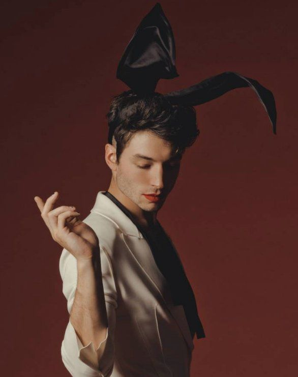 Ezra Miller fans can't take their eyes off his Playboy photoshoot and interview