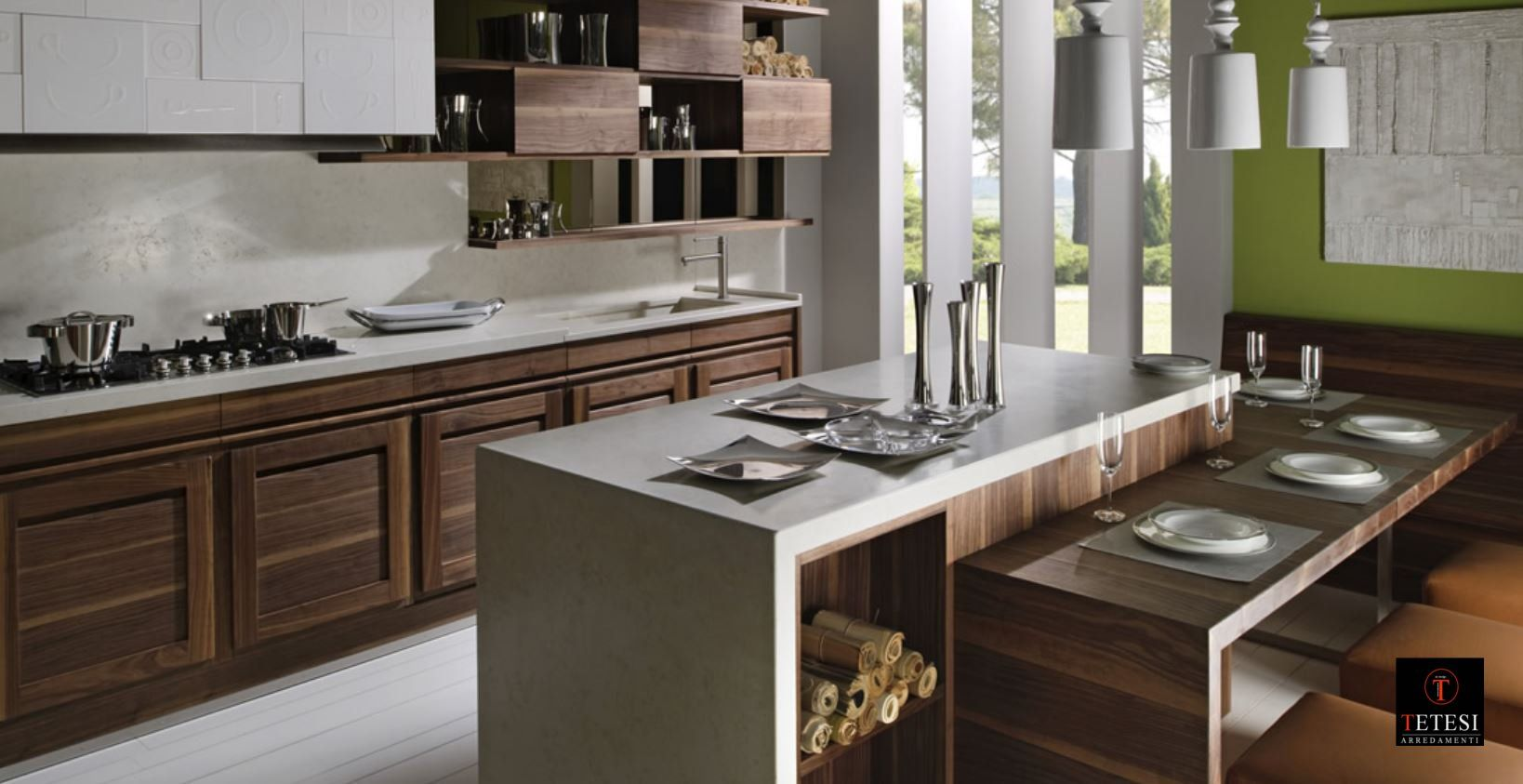 isole cucina con tavolo - Google Search | isole | Kitchen, Kitchen ...