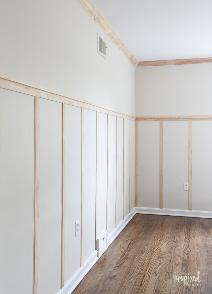 How to Install Board and Batten - One Room Challenge Week 2