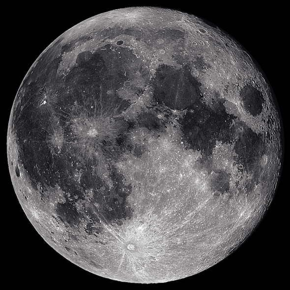 Luna llena  Universo  Pinterest  Luna llena Fotos de la luna y