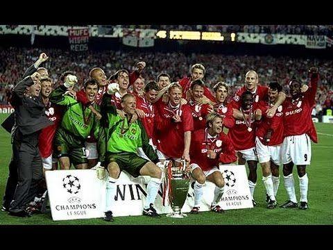 Manchester United Vs Bayern Munich Ucl Final 1999