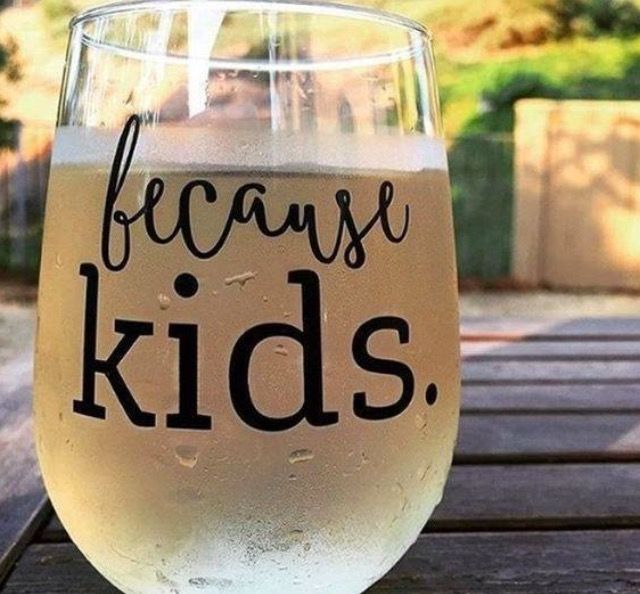 6aace38469a Because Kids™ Glass - The Original | I'll WINE if I want to! | Wine ...