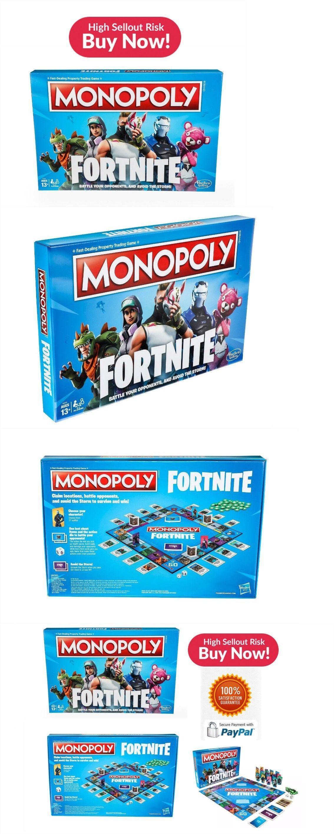 Contemporary Manufacture 180349 Fortnite Monopoly Board Game