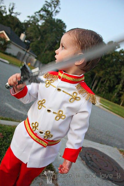 Prince charming suit - tutorial