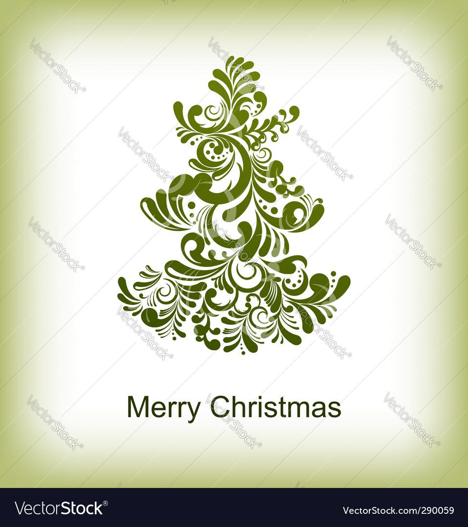 abstract Christmas card with editable text. Download a Free Preview ...