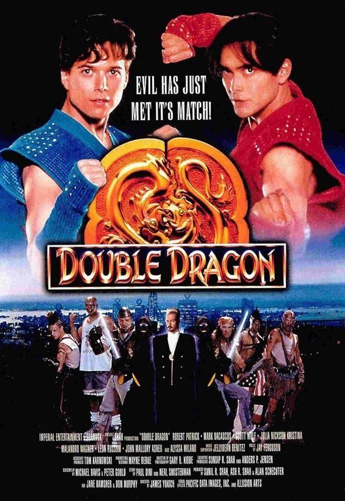Double Dragon Filme 1994 Capas De Filmes Filmes Filmes