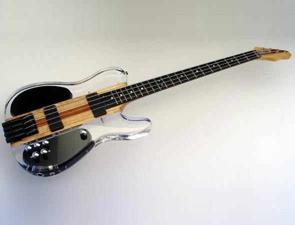 fmw guitars telia custom shop 4 string short scale bass with abm headless tuners and h ussel. Black Bedroom Furniture Sets. Home Design Ideas