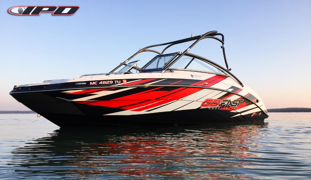 Custom Designed Boat Graphics Kit 50 Balance Boat Wraps Boat Custom Design