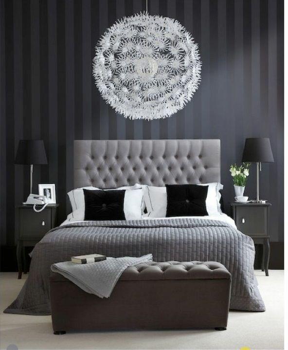 30 Ideen für Bett Kopfteil - märchenhafte und kunstvolle Beispiele - schlafzimmer wandgestaltung beispiele