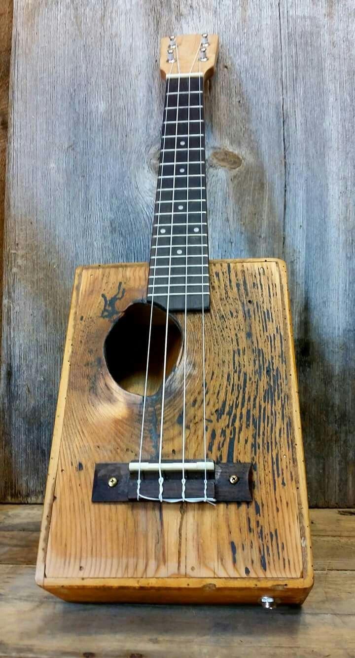 More Acousticguitar Cigar Box Guitar Handmade Guitar Homemade Musical Instruments