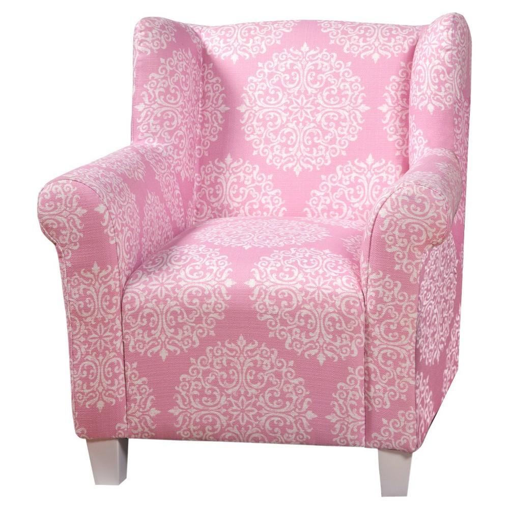 Juvenile chair pinkwhite homepop accent chairs chair