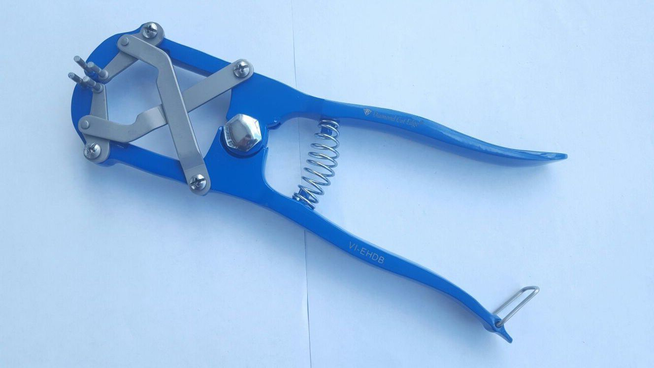 Elastrator Heavy Duty Tool Bander Pliers for Dogs Goats