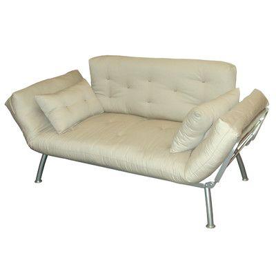 Elite Products MaliFlex Futon Mattress and Cushions Color Khaki