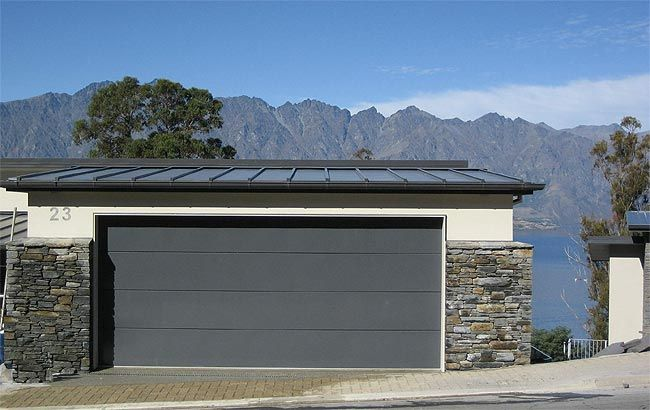 Contemporary Flush Panel Garage Doors   Google Search