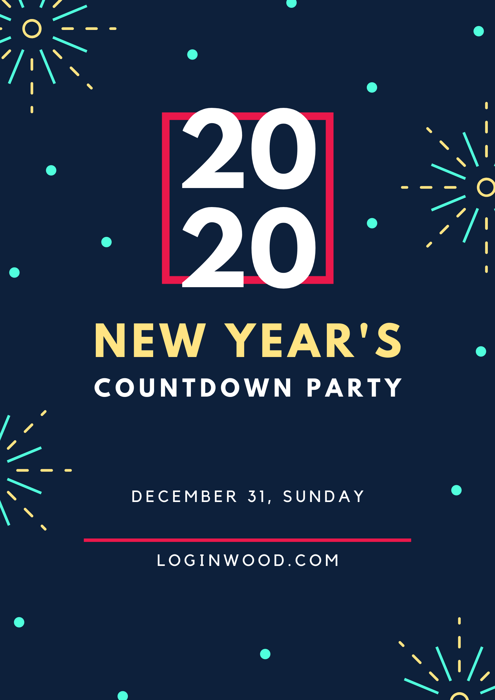 Pin by LOGINWOOD on New Year 2020 in 2020 New years