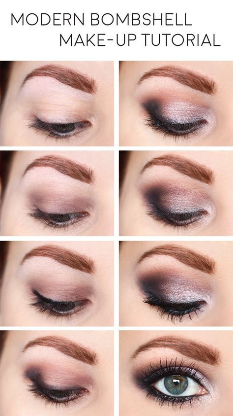 Modern Bombshell Make-up Tutorial