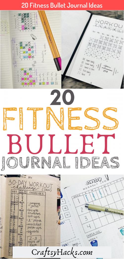20 Fitness Bullet Journal Ideas #Bullet #Bullet journal travel train #Fitness #Ideas #Journal
