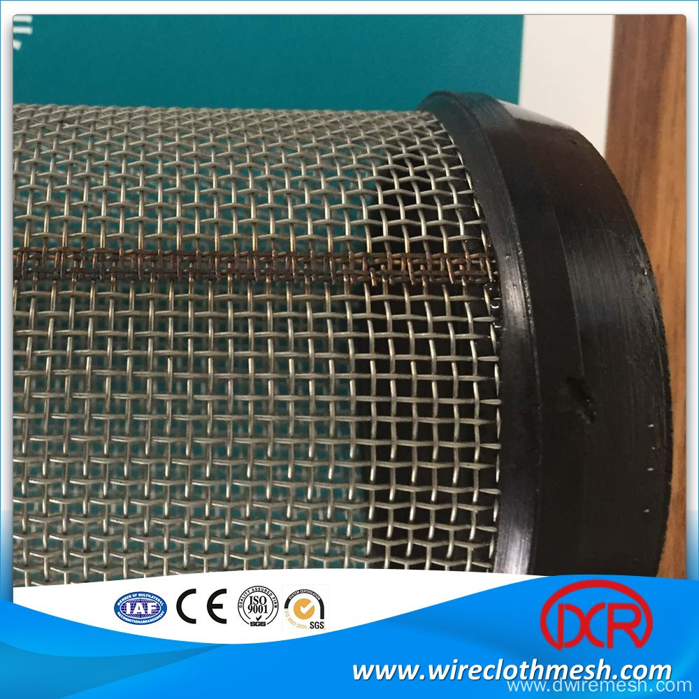 15 Micron Stainless Steel Wire Mesh Filter Tube | Filter Tube ...
