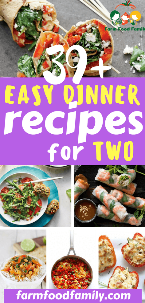 39+ Easy Dinner Recipes For Two images