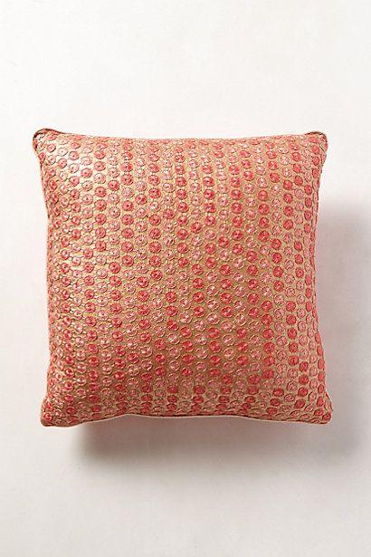 Silk Pachi Cushion #anthropologie
