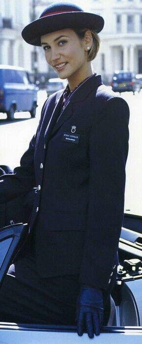 British Airways Uniform Airline Uniforms Pinterest
