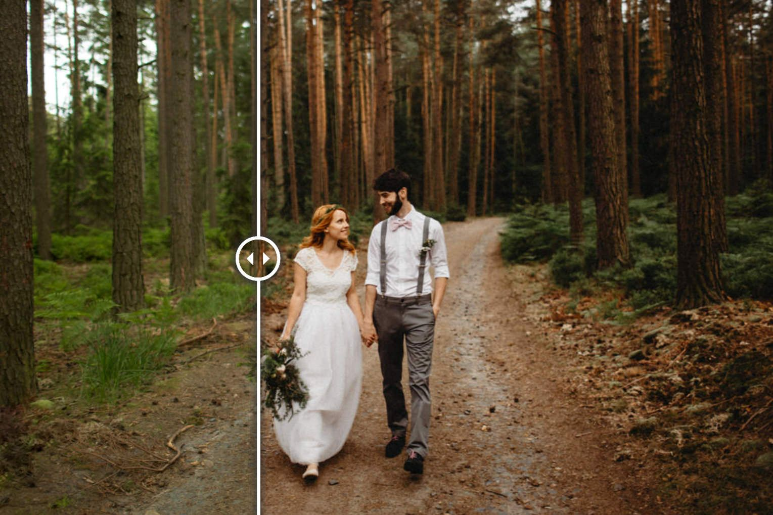 How to edit wedding photos like a pro