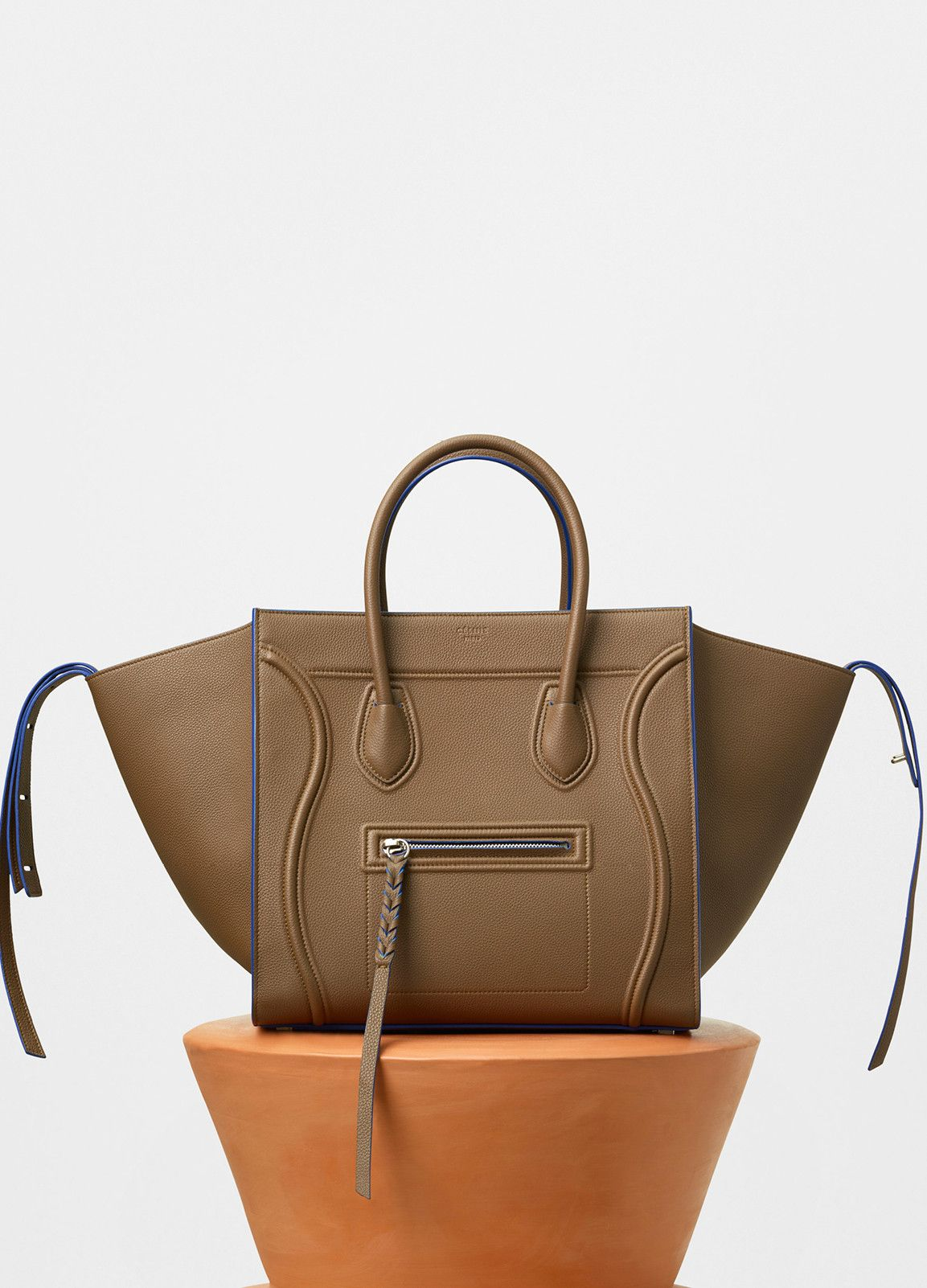 9db6d31b4a Luggage Phantom Tote Bag in Baby Grained Calfskin - Fall   Winter  Collection 2016