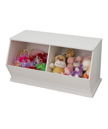 Another Great Find On Zulily White Double Storage Unit