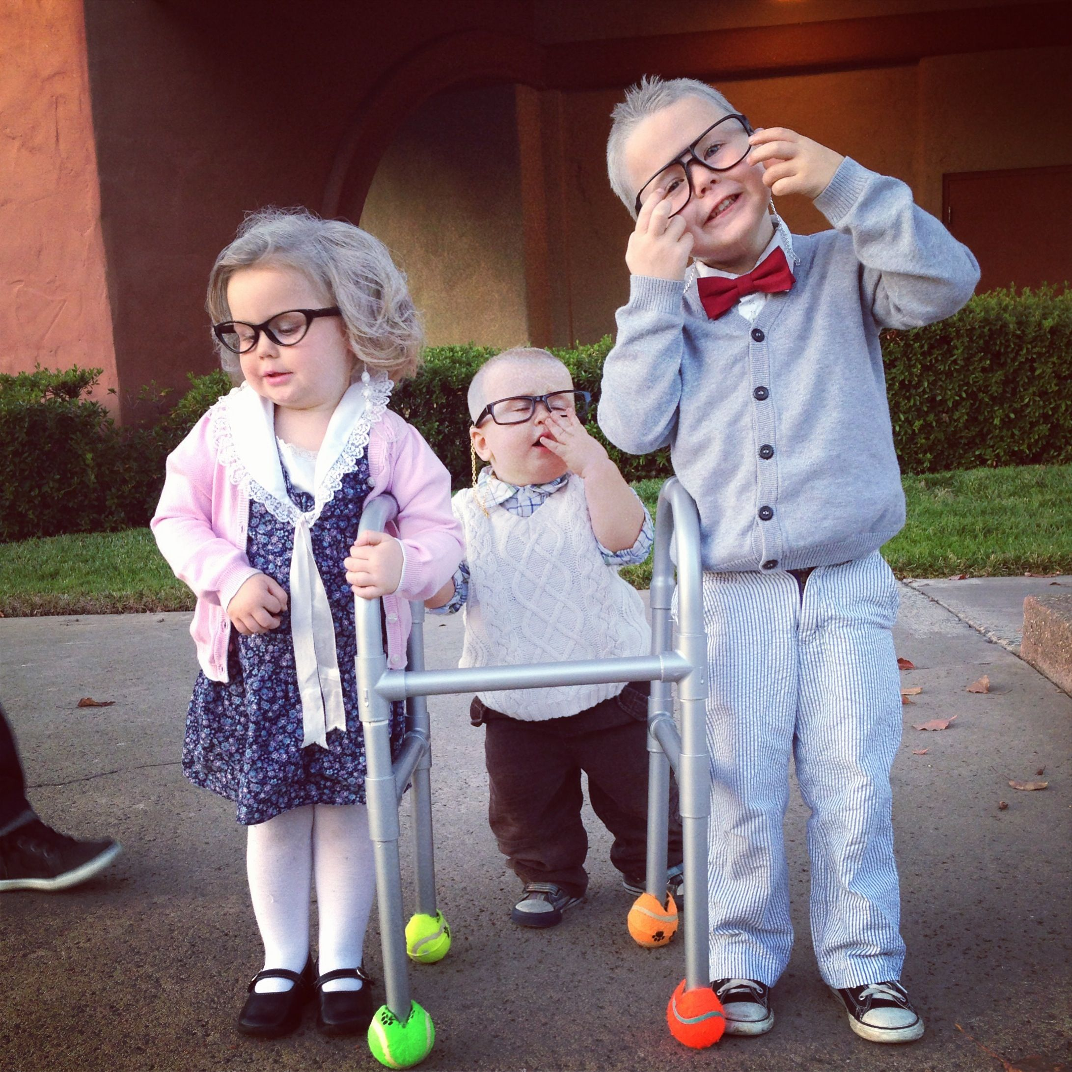 Little old people costume Halloween Toddler costume | my babes ...
