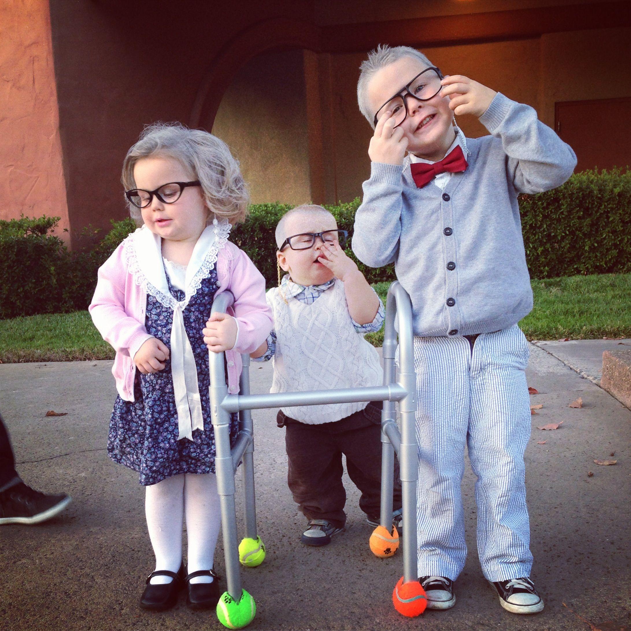 Little Old People Costume Halloween Toddler Costume Ha