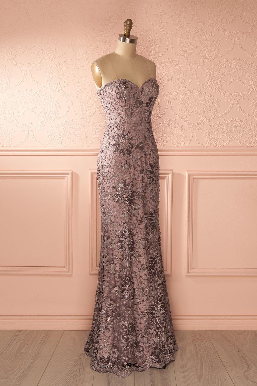 Orva mauve mauve lilacs and maxi dresses