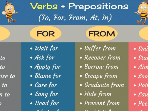 verbs with prepositions list in english pdf