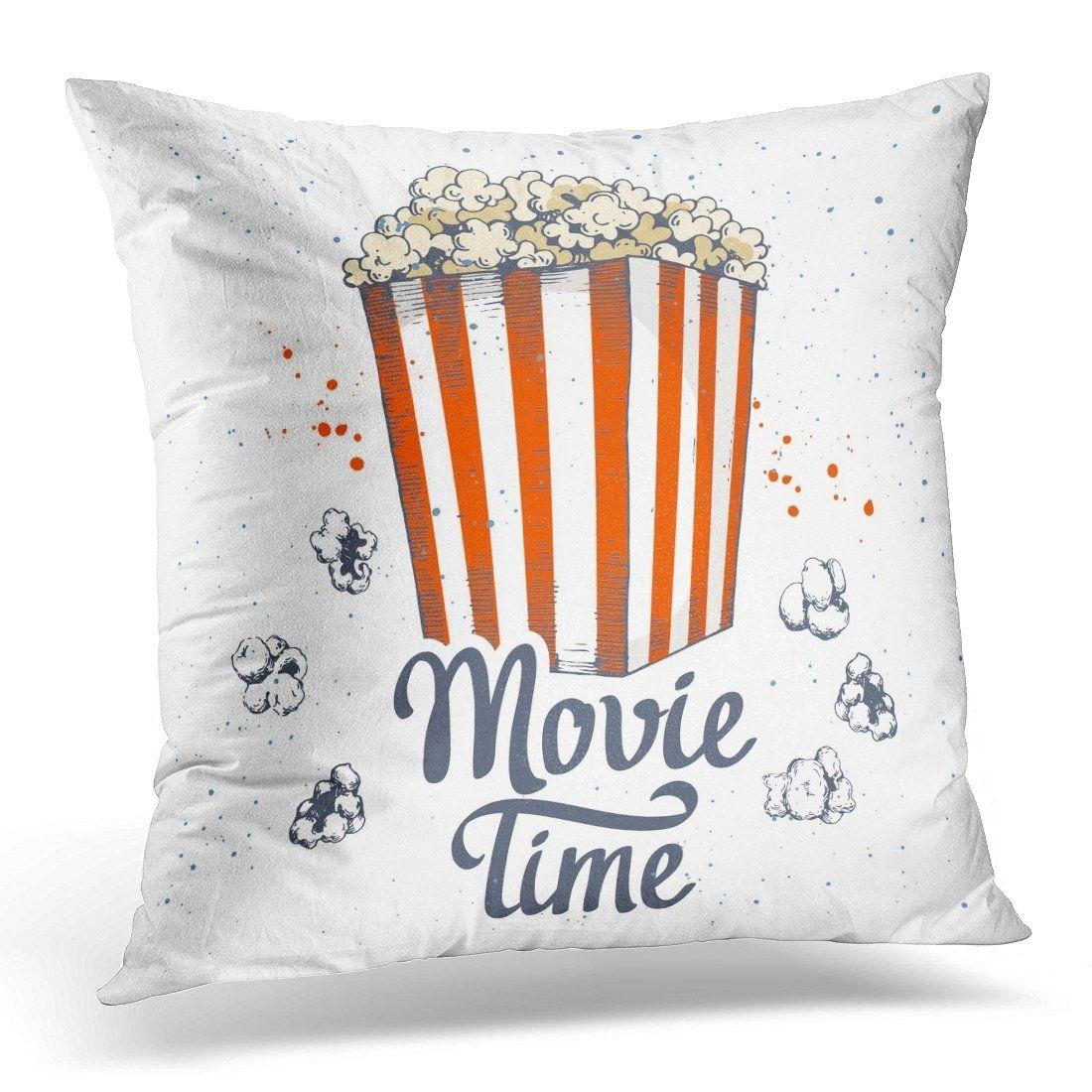 Graphic with Sketch Popcorn Bucket Design Cinema Snack Fast Food Movie