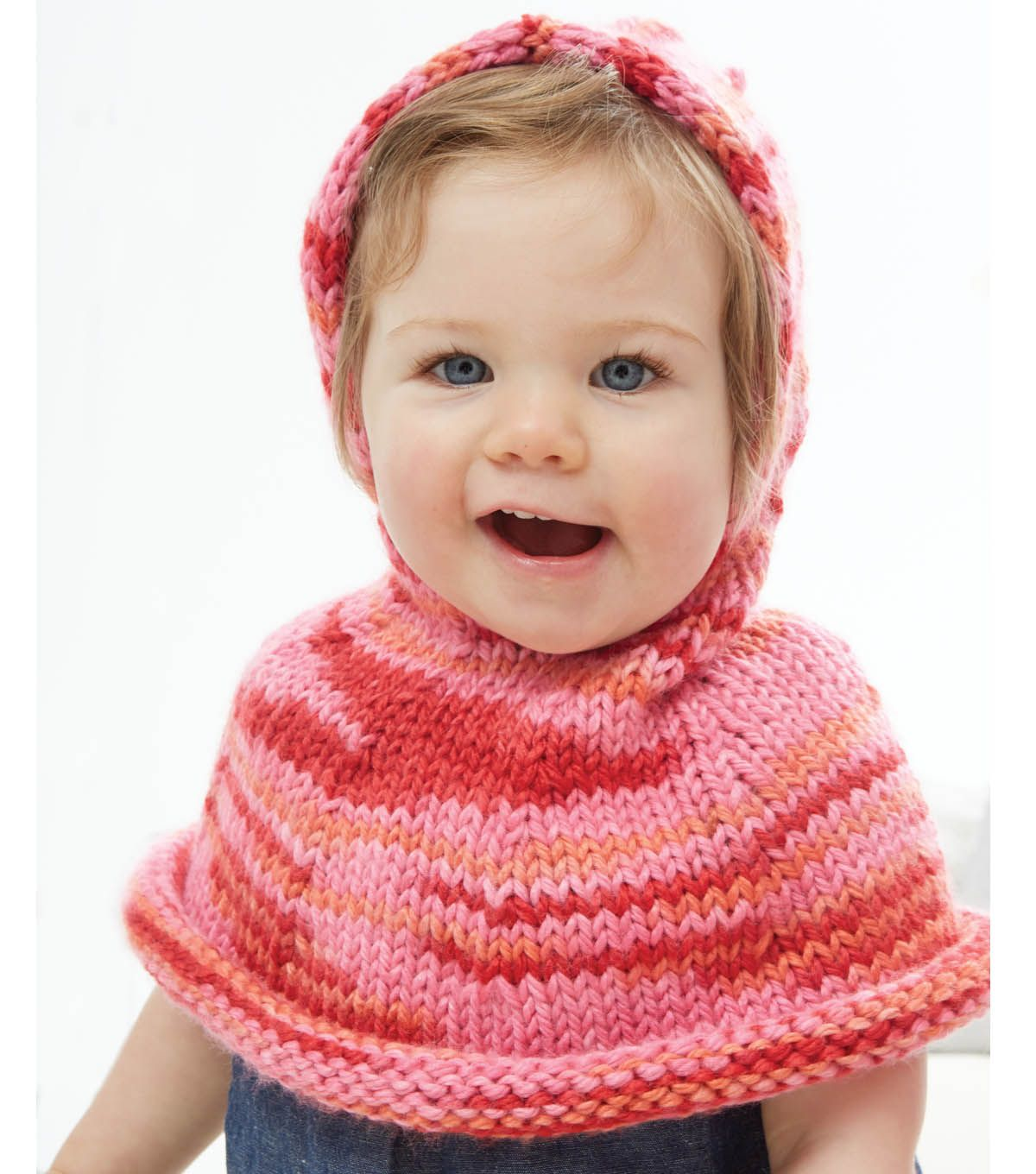 Knit this adorable poncho to fit a 6-18 month old baby! Project ...