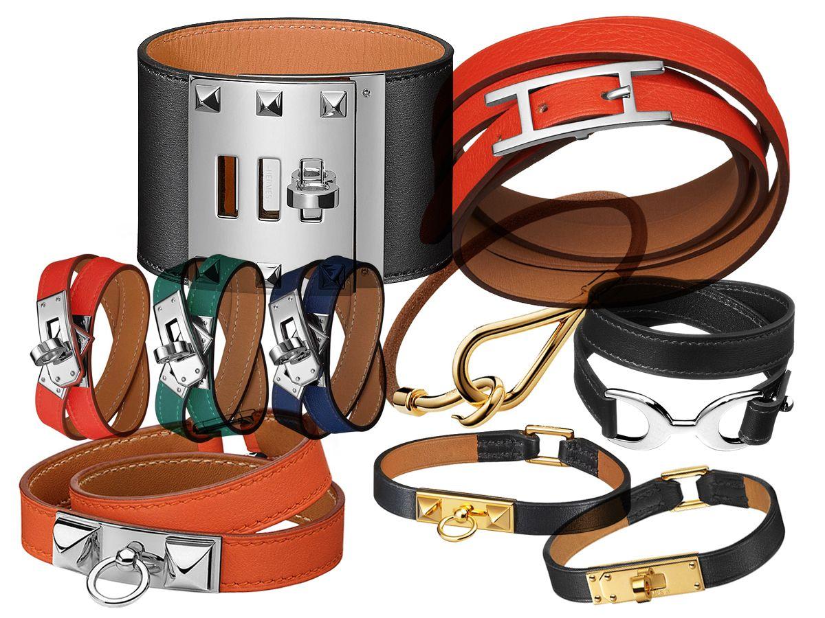 7c8ad11bd9bd Hermès  Leather Bracelets Price Guide In EUR