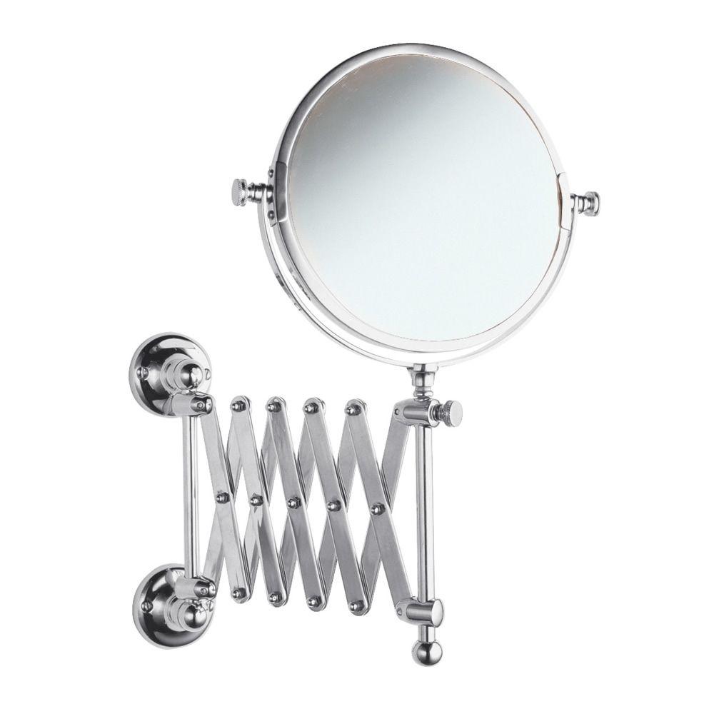 Extending Bathroom Mirror in Chrome Finish - Image 1 | Bathroom ...