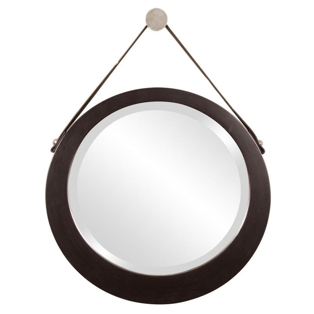 Bloomington Espresso Brown Round Mirror - Overstock™ Shopping - Big Discounts on Allan Andrews Mirrors