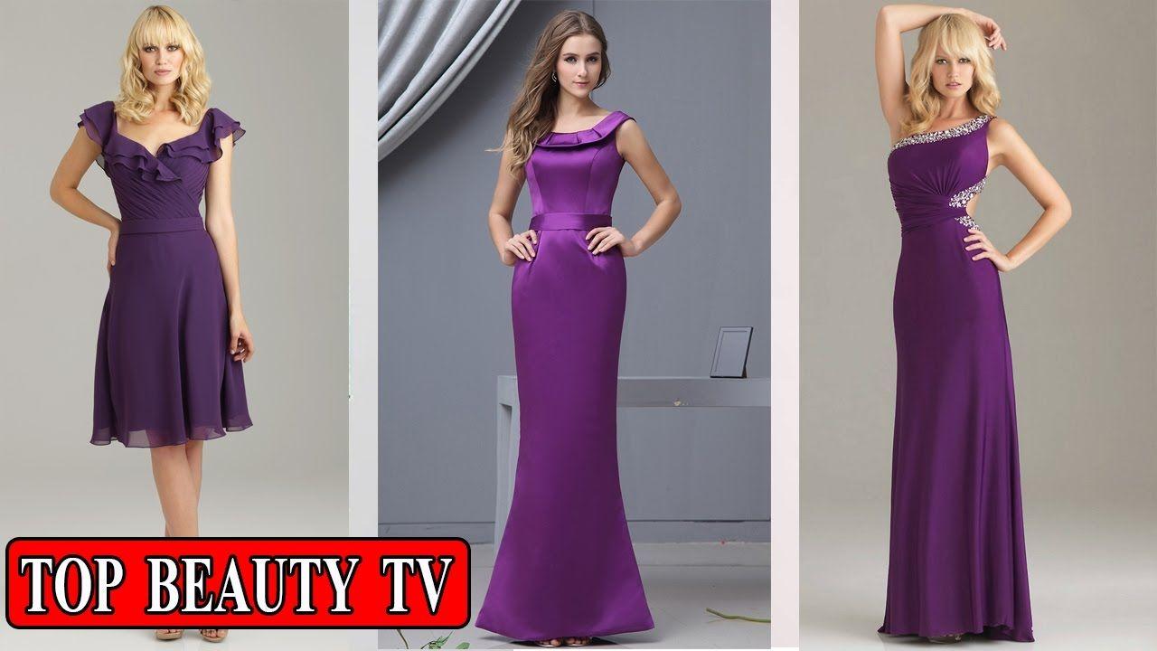 Top Purple bridesmaid dresses, eggplant bridesmaid dresses | Fashion ...