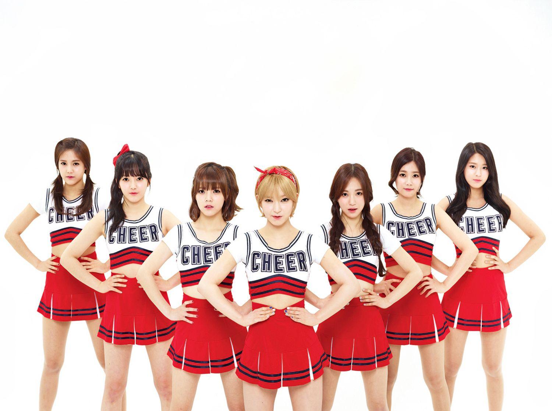 Hq Kpop Girls Cheerleading Outfits Aoa Cheerleading