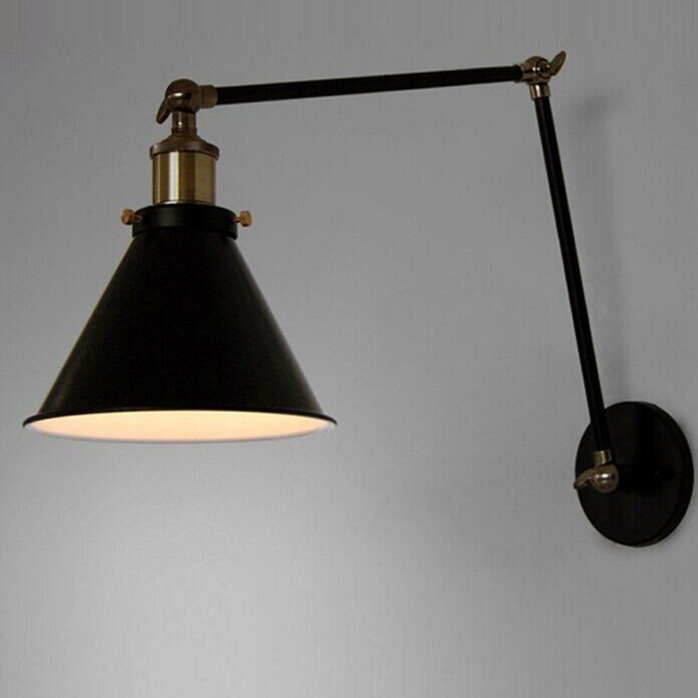 Vintage Industrial Wall Lamp Loft Creative Swing Arm Sconce Balcony Stair Porch Restaurant Bar Bedroom Wall Light