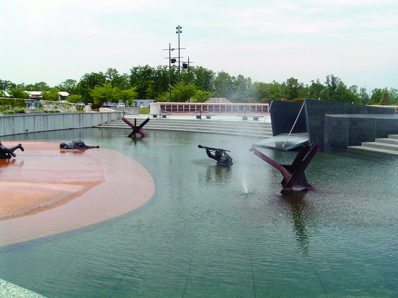 Invasion Pool At The National D Day Memorial Bedford Va