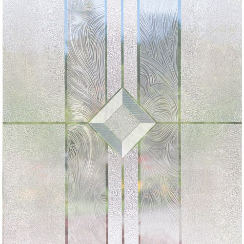 Stick On Decorative Window Film Light Effects Vienna Sidelight