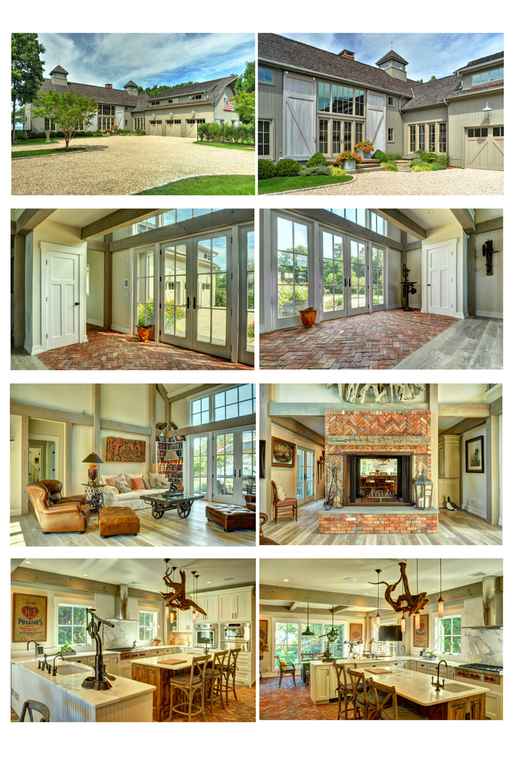 The Southold is one spectacular barn home. Visit for more photos and floor plans. #barnhomes