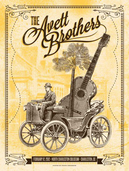 The Avett Brothers: Charleston, SC, February 12, 2012
